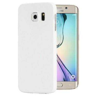 Microsonic Premium Slim Kılıf Samsung Galaxy S6 Edge Kılıf Beyaz Cep Telefonu Kılıfı