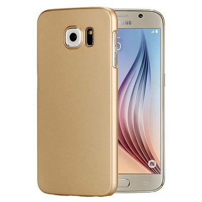 Microsonic Premium Slim Kılıf Samsung Galaxy S6 Kılıf Gold Cep Telefonu Kılıfı
