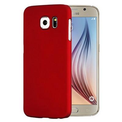Microsonic Premium Slim Kılıf Samsung Galaxy S6 Kılıf Kırmızı Cep Telefonu Kılıfı