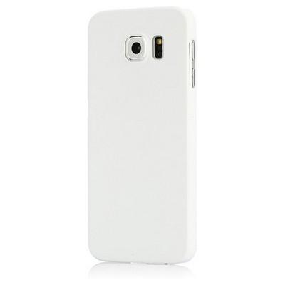 Microsonic Premium Slim Kılıf Samsung Galaxy S6 Kılıf Beyaz Cep Telefonu Kılıfı