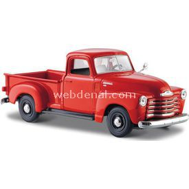 Maisto Chevrolet 3100 Pickup 1950 1:24 Model Araba S/e Kırmızı Arabalar