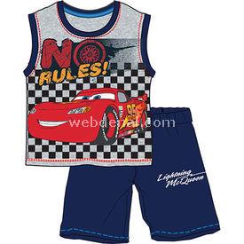 Cars Cr4072 Erkek Pijama Takımı Grimelanj 6 Yaş (116 Cm) Erkek Bebek Pijaması