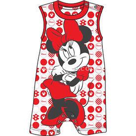 Minnie Mouse Mn4386 Kız Tulum Kırmızı 6-9 Ay (68-74 Cm) Bebek Tulumu