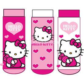 Hello Kitty Hk4937 3'li Kız Bebek Çorabı Pembe 0 Ay (50-56 Cm) Kız Bebek Çamaşırı