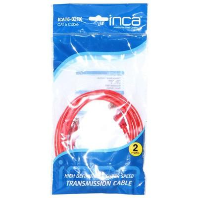 Inca Icat6-02tk Cat6 2 Metre Kırmızı Kablo Network Kablosu