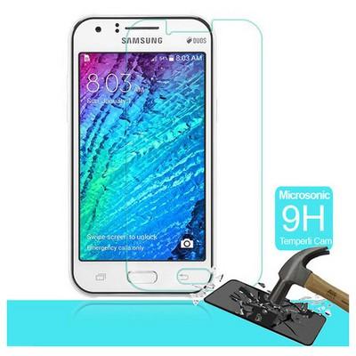 Microsonic Temperli Cam Ekran Koruyucu Samsung Galaxy J1 Kırılmaz Film Ekran Koruyucu Film