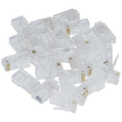 Inca Icon-p25 Rj45 25 Adet Plastik Konnektör Network Kablosu