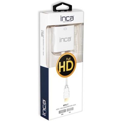 Inca Ihtvj-7 Hdmı To Vga Jaklı Ses Kablolu Çevirici Adaptör