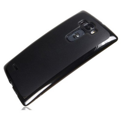 Microsonic Transparent Soft Lg G Flex 2 Kılıf Siyah Cep Telefonu Kılıfı