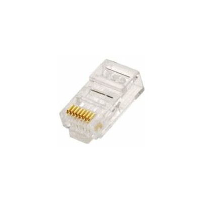 Flaxes Fkn-100pp Rj45 Konnektör 100 Lü Paket Network Kablosu