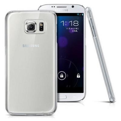 Microsonic Kristal Şeffaf Samsung Galaxy S6 Kılıf Cep Telefonu Kılıfı
