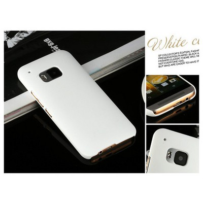 Microsonic Premium Slim Htc One M9 Kılıf Beyaz Cep Telefonu Kılıfı