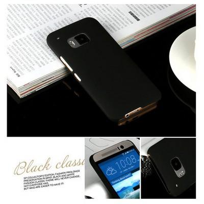 Microsonic Premium Slim Htc One M9 Kılıf Siyah Cep Telefonu Kılıfı