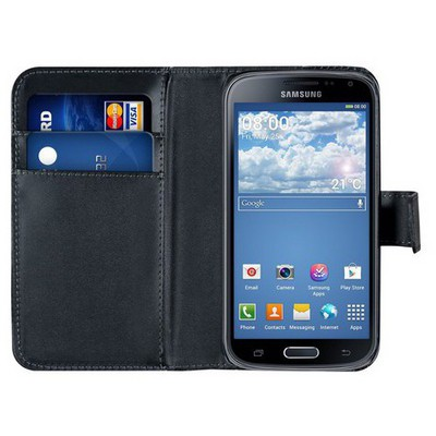 Microsonic Cüzdanlı Deri Samsung Galaxy K Zoom (s5 Zoom) Kılıf Siyah Cep Telefonu Kılıfı