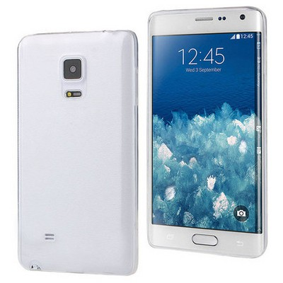 Microsonic Samsung Galaxy Note Edge Kılıf & Aksesuar Seti 8in1 Cep Telefonu Kılıfı