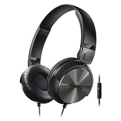 Philips SHL3165BK SHL3165BK/00 Mikrofonlu Kulaklık Siyah Kafa Bantlı Kulaklık
