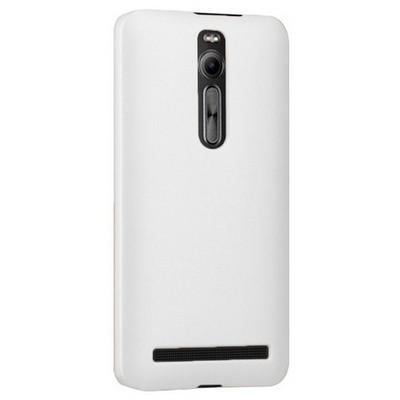 Microsonic Premium Slim Asus Zenfone 2 (5.5'') Kılıf Beyaz Cep Telefonu Kılıfı