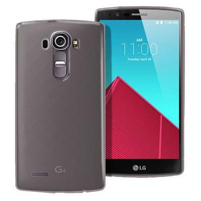 Microsonic Transparent Soft Lg G4 Kılıf Siyah Cep Telefonu Kılıfı