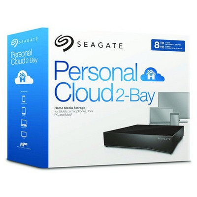 Seagate 8TB Personal Cloud 2-Bay - STCS8000201