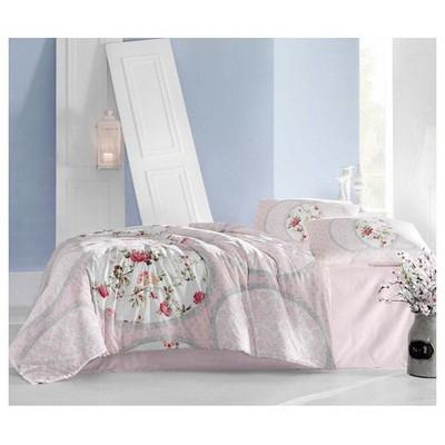 Altınbaşak Perlita Uyku Seti Çift Kişilik - Pembe Ev Tekstili