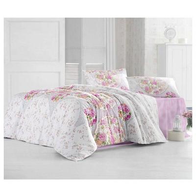 Altınbaşak Deren Uyku Seti Çift Kişilik - Pembe Ev Tekstili