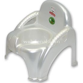Sevi Bebe Sandalye Lazımlık Beyaz Tuvalet Eğitimi