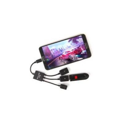 Dark Dk-ac-usb2mıcro2 Micro Usb  Hub - 2 X Otg Kablo Cep Telefonu Uyumlu Çoklayıcı