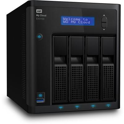WD My Cloud Expert EX4100 Disksiz NAS (WDBWZE0000NBK)