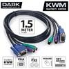 DK-CB-KVML150 KVM için bağlantı kablosu 1,5 metre