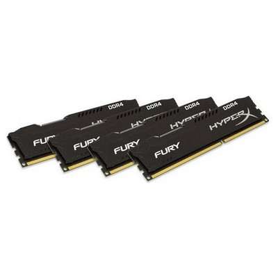 Kingston HyperX Fury 4x4GB Bellek - HX421C14FBK4/16