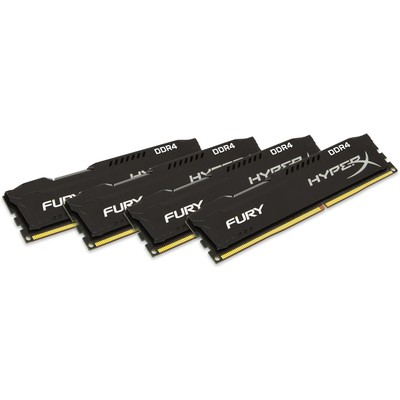 Kingston HyperX Fury 4x8GB Bellek - HX424C15FBK4/32