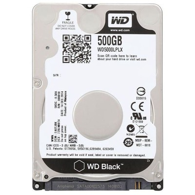 WD Black 500GB Notebook Performans Disk (WD5000LPLX)