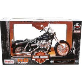 Maisto Harley Davidson 2006 Fxdbi Dyna Street Bob 1:12 Model Motosiklet Arabalar