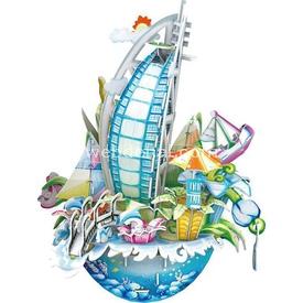 Cubic Fun 3d 57 Parça  Cityscape - Dubai Puzzle