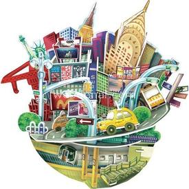 Cubic Fun 3d 55 Parça  Cityscape - New York Puzzle