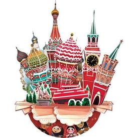 Cubic Fun 3d 68 Parça  Cityscape - Moscow Puzzle