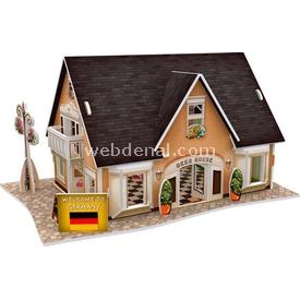 Cubic Fun 3d 42 Parça  German Beer House Puzzle