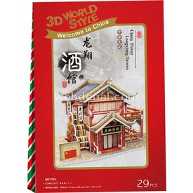 Cubic Fun 3d 29 Parça  Chinese Longxiang Tavern Puzzle