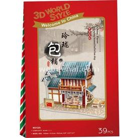 Cubic Fun 3d 39 Parça  Chinese Linglong Steamed Stuffed Bun Shop Puzzle
