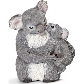 Schleich Anne Ve Yavru Koala Figür 4 Cm Figür Oyuncaklar
