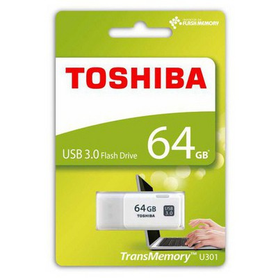 Toshiba 64GB Hayabusa 3.0 Flash Bellek (THN-U301W0640E4)