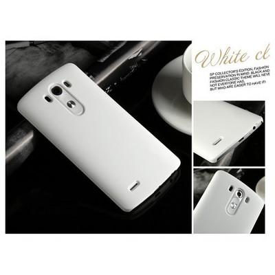 Microsonic Premium Slim Lg G4 Kılıf Beyaz Cep Telefonu Kılıfı