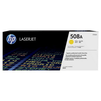 HP Cf362a Yellow  Kartuş (508a) Toner