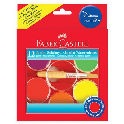 Faber Castell Ufo Suluboya 12 Renk Sulu Boya