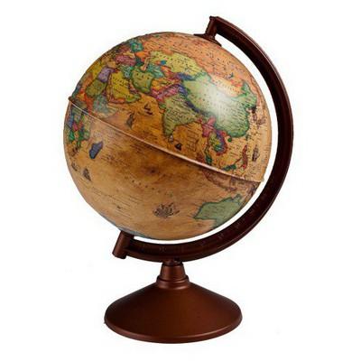Gurbuz Yayınları Işıksız Antik Küre 26 Cm Eğitim Gereci