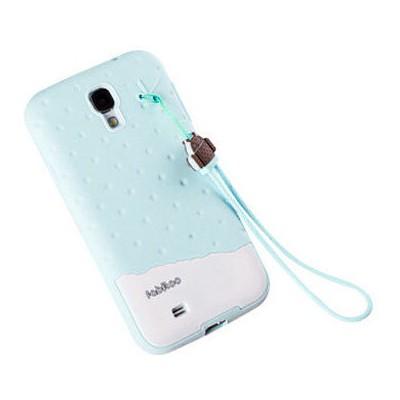 Microsonic Fabitoo Samsung Galaxy S4 Candy Kılıf Turkuaz Cep Telefonu Kılıfı