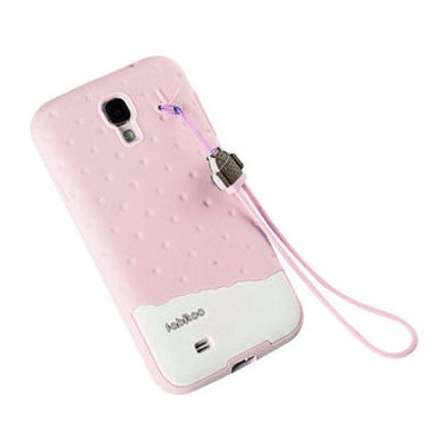Microsonic Fabitoo Samsung Galaxy S4 Candy Kılıf Pembe Cep Telefonu Kılıfı