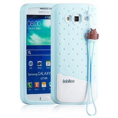 Microsonic Fabitoo Samsung Galaxy S3 Candy Kılıf Turkuaz Cep Telefonu Kılıfı