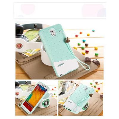 Microsonic Fabitoo Samsung Galaxy Note 3 Candy Kılıf Turkuaz Cep Telefonu Kılıfı