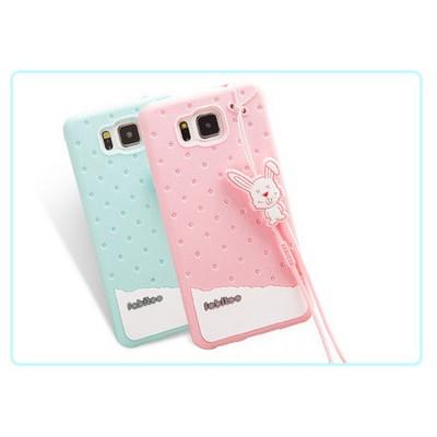 Microsonic Fabitoo Samsung Galaxy Alpha Candy Kılıf Turkuaz Cep Telefonu Kılıfı